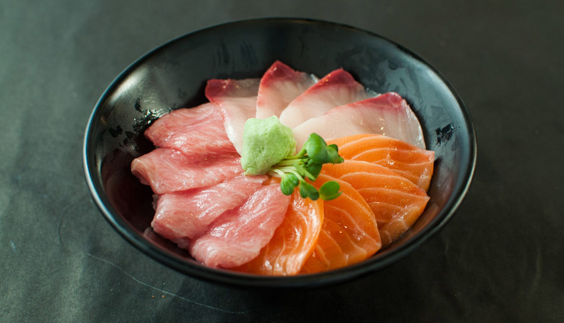 Masu – Trout Fish Shushi with Topping